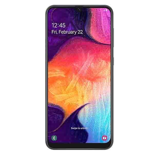 Samsung Galaxy A50, 128GB, 4GB Ram, Ramen Octa Core 2.3GHz Black (SM-A505BL-EC)