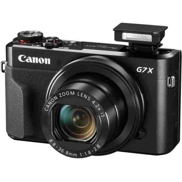 Canon Power Shot G7X Mark II Digital Camera Black (PSG7XMII)