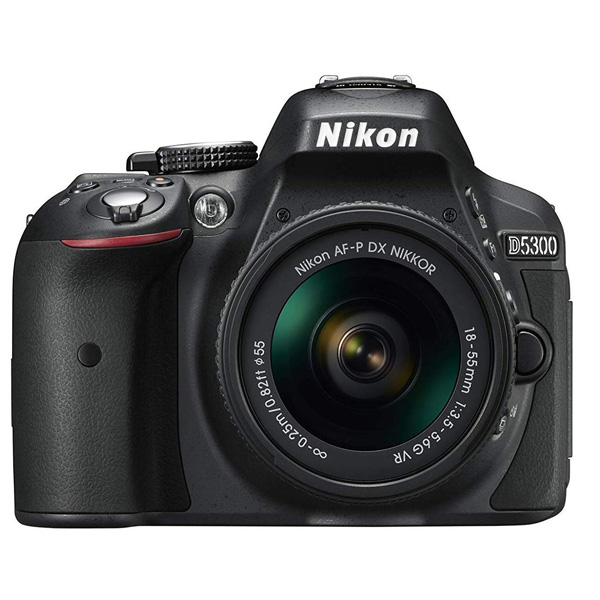 Nikon D5300 Digital Camera 18-55mm Black (D5300VR-BK)