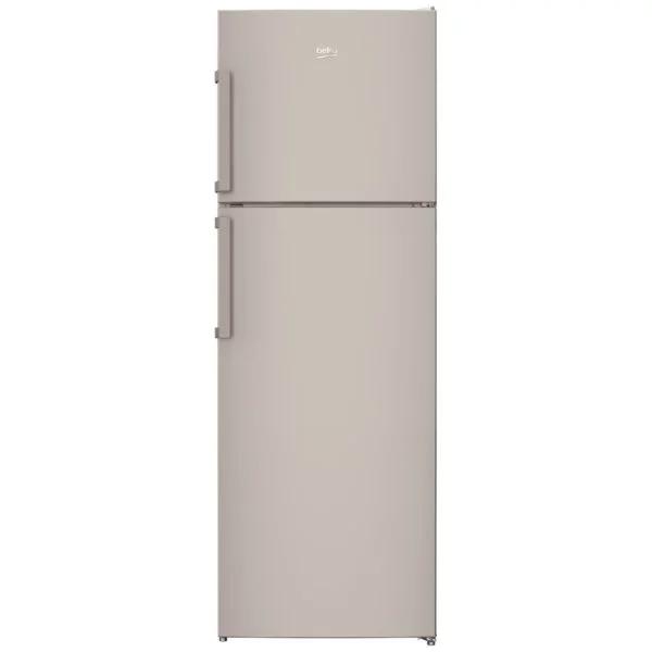 Beko 390 Liter Top Mount Refrigerator, No Frost, Dual Cooling Technology, Made in Turkey (RDNE350K21S)