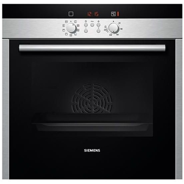 Siemens Built-in single oven black, stainless steel (HB539E3M)