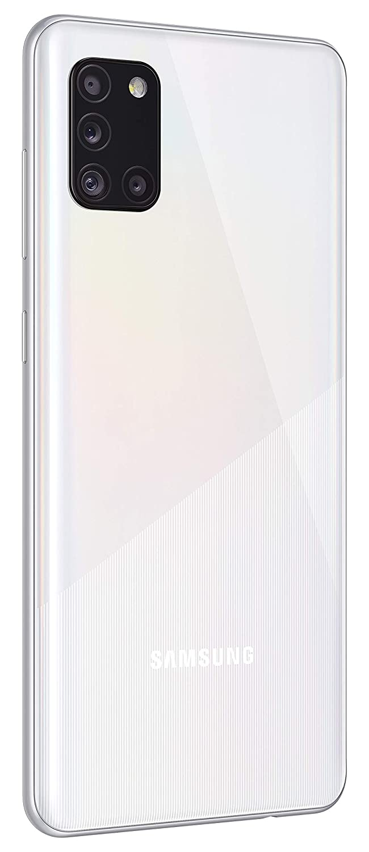 Samsung Galaxy A31 Prism Crush White, 4 GB RAM, 128GB (SMA315FZWVXSGW-AA)