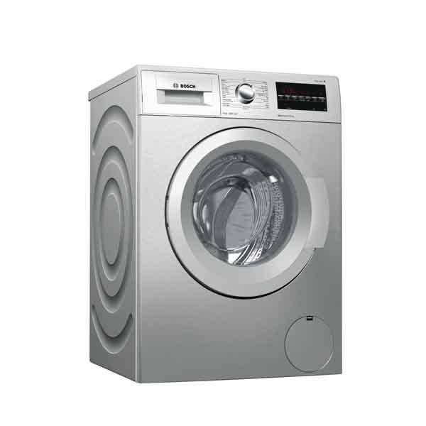 Bosch F/S 9kg Silver Washer Spin speed 1200 rpm (WAT2446SGC)