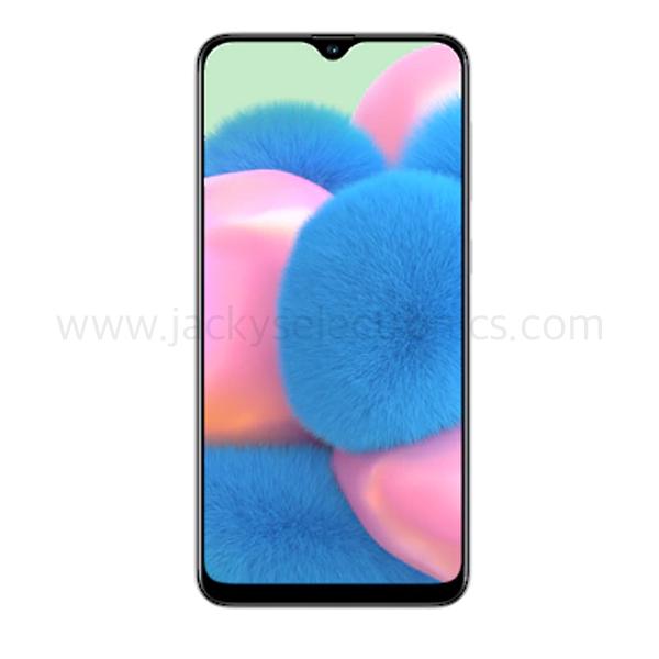 Samsung Galaxy A30s, 128GB, 4GB RAM,  WHITE  (SMA307FW-128GBW)
