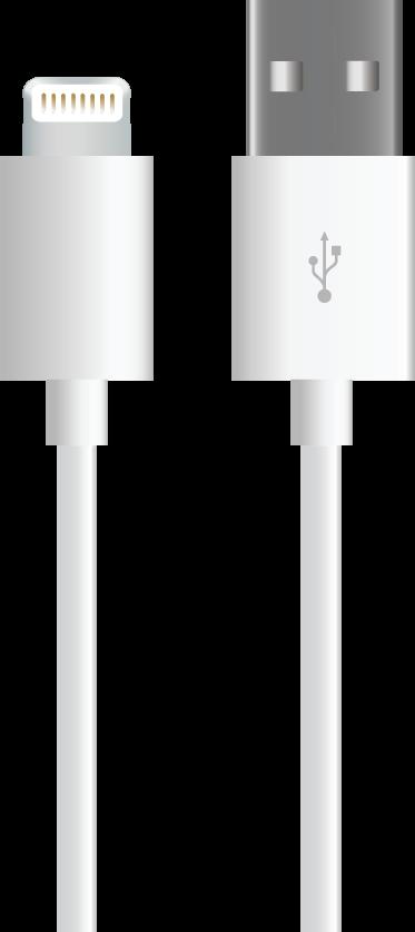 MYCANDY MFI LTNG CBL UA01 1M WHITE-ACMYCUSBCBLMFI8P1MWHT