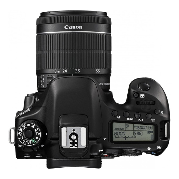 Canon EOS80D with 18-55IS STM (EOS80DKIT)