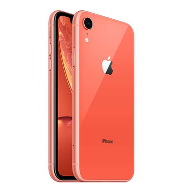 Apple iPhone XR 64GB Smartphone, Coral (IPXR64GB-CORAL)