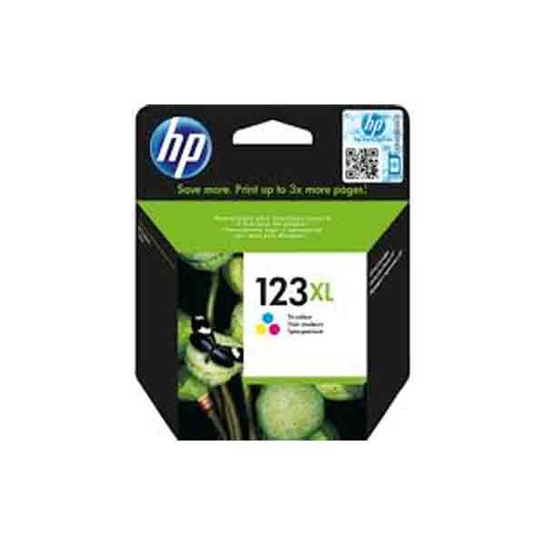 HP 123XL High Yield Tri-color Original Ink Cartridge F6V18AE