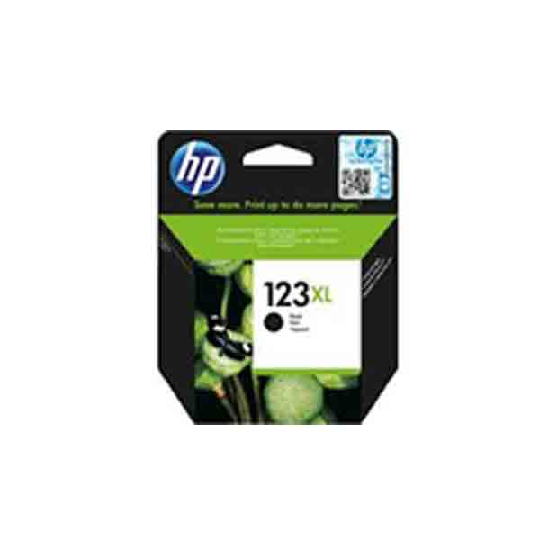 HP 123XL High Yield Black Original Ink Cartridge F6V19AE
