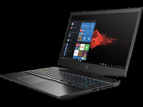 "HP Omen 15.6"" FHD i7 10th Gen 32GB RAM 1TB SSD NVIDIA GeForce RTX 2070 Super Max 8GB Graphics, Windows 10 Home, EN-AR KB, Black 15-dh1003ne Gaming Laptop"