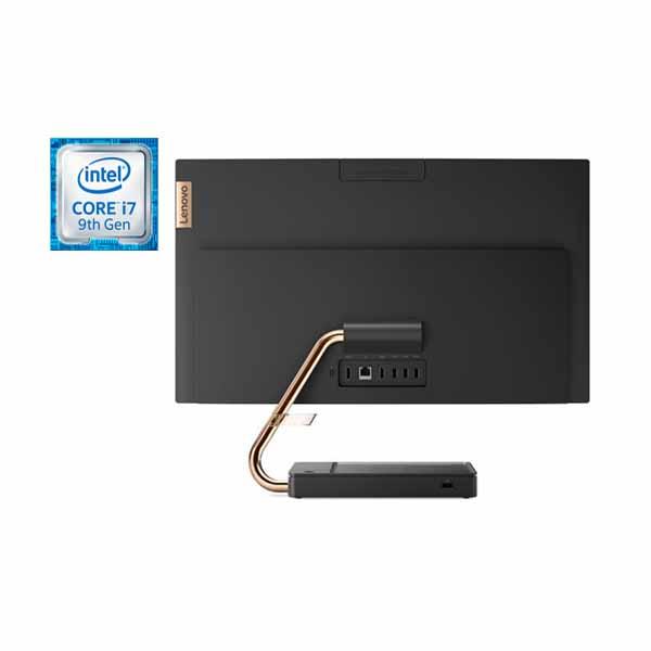 """Lenovo Ideacentre A540-24ICB, Intel Core i7-9700T, 16GB Ram, 1TB HDD + 128GB SSD, AMD Radeon RX 540X 2GB GDDR5, 23.8"""" FHD Win 10 (F0EL009AAX)"""