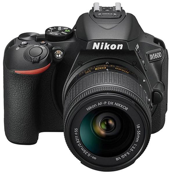 Nikon D5600BK DSLR Camera With 18-55mm VR Kit Lens (D5600BK-EC)