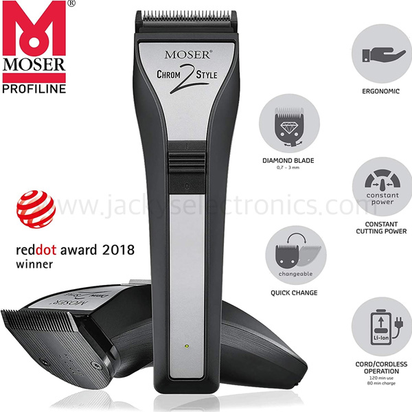 Moser Professional, Cord,Cordless Hair Clipper (1877–0150)