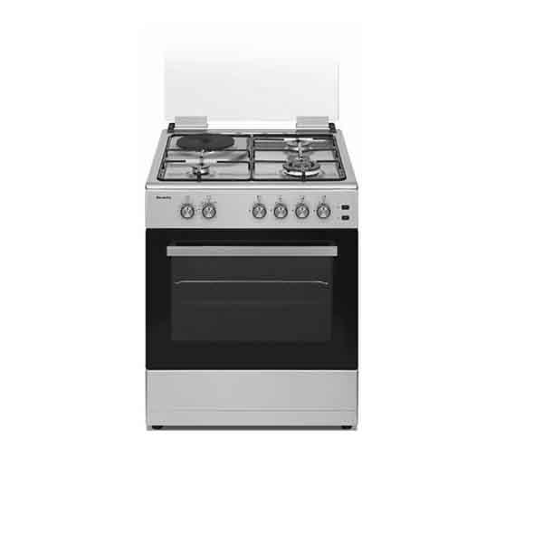 Baumatic 60cm Freestanding Gas Cooker (BMECGEG6ESS)