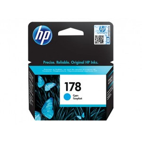 HP 178 Cyan Original Ink Cartridge (CB318HE)