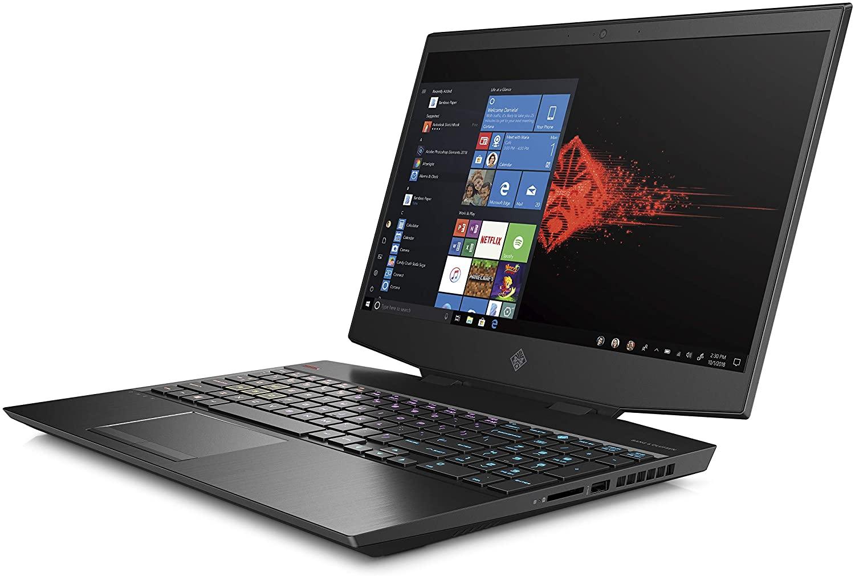 OMEN by HP Laptop 15-dh0011ne Processor Intel® Core™ i7-9750H, RAM 32 GB, 8 GB NVIDIA® GeForce RTX™ 2070 with Max-Q design, Screen Size 15.6, Memory 1 TB SSD, Black