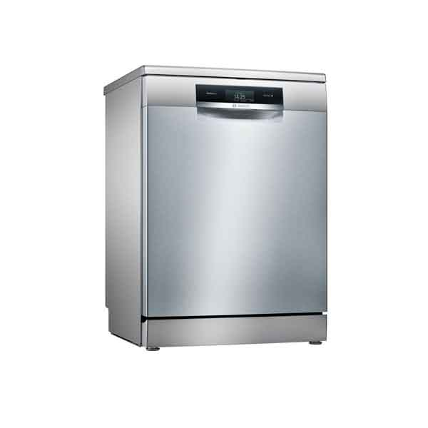 Bosch Serie 8 free-standing dishwasher 60 cm Stainless steel (SMS88TI46M)