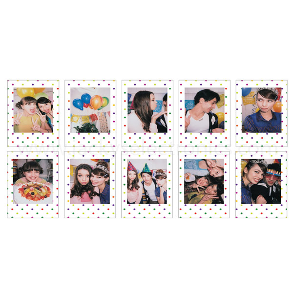 Fujifilm Instax Mini film 10 sheets (Candy POP) INSTAXMINI10-CPOP