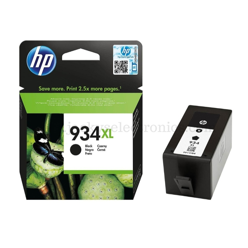 HP INK CARTRIDGE / 934XL BLACK C2P23AE