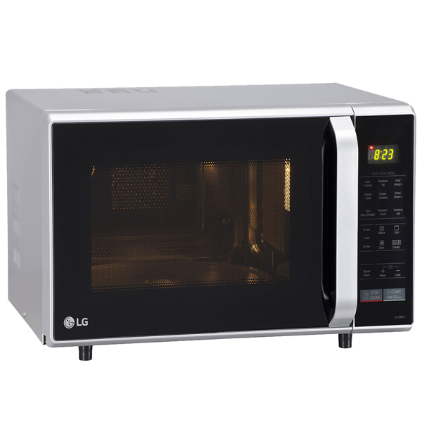 LG 28 L Convection Microwave Oven - Silver (MC2846SL)