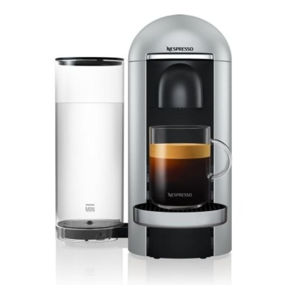Nespresso Vertuo Plus Silver Deluxe Coffee Machine GCB2-GB-SI-NE1