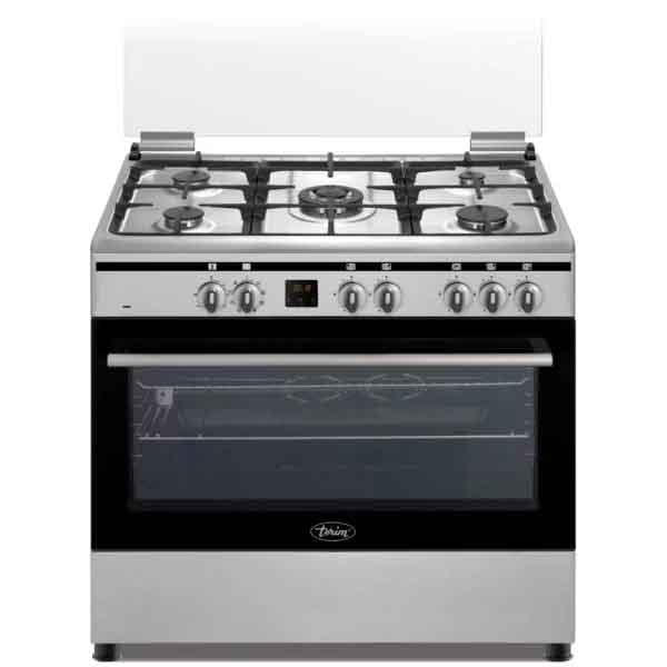 Terim 90X60 Combination Cooker, 5 Gas Burners (TERGE96ST)