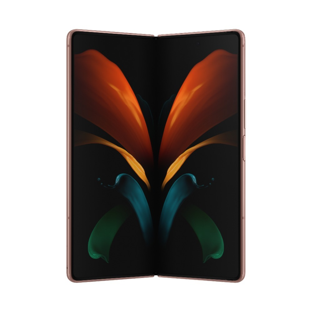 Samsung Galaxy Z Fold 2 5G Mystic Bronze Single + eSIM SM-F916BZNAXSG