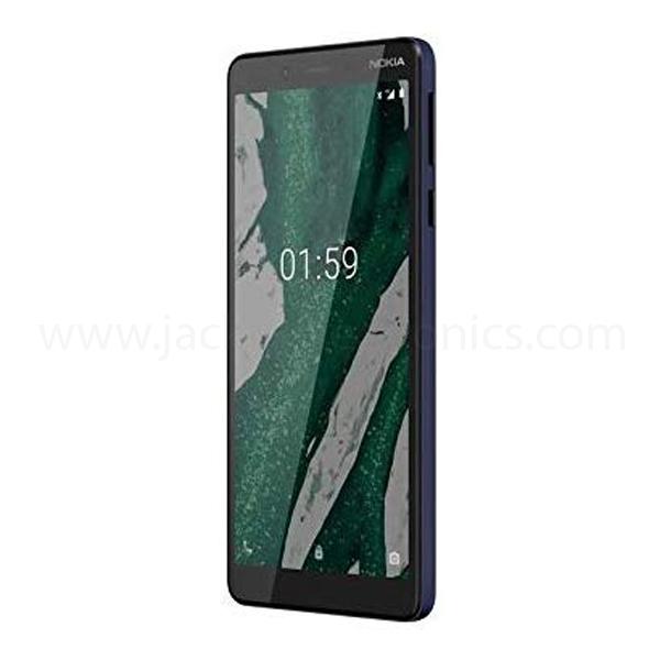 Nokia 1 Plus Dual Sim - 8GB, 1GB RAM, 4G LTE, Blue (NOK-1-PLUS-BL)