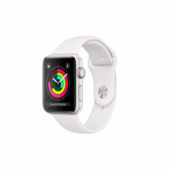 APPLE WATCH SERIES 3 42 SL AL WHT SP GPS (MTF22AE/A)