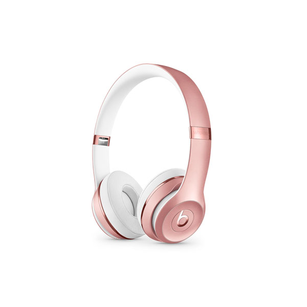 Beats Solo3 Wireless On-Ear Headphones - Rose Gold (MX442AE/A)
