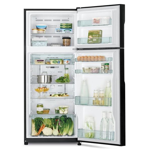 Hitachi 380ltr Inverter Refrigerator Brilliant Silver (RH380PUK7KBSL)