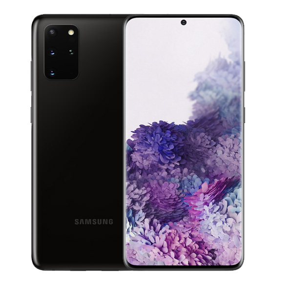 "SAMSUNG MOBILE PHONE S20+5G, OCTA CORE , 6.7"" 128GB 5G, BLACK (SMG986W-128GBBK)"