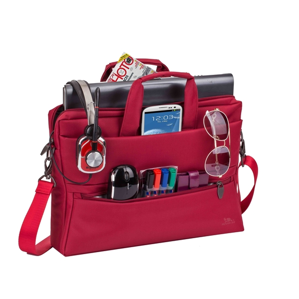 RIVACASE LAPTOP BAG 15.6 RED (RIVA-8630RD)