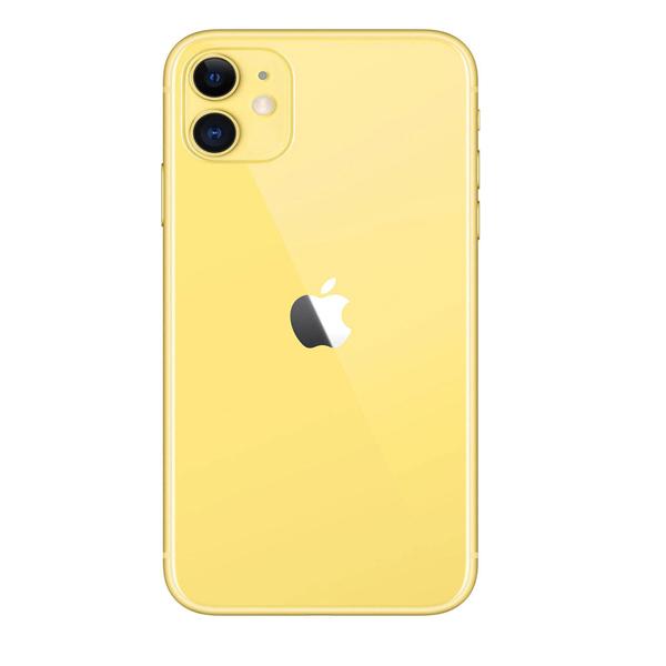 Apple iPhone 11 With FaceTime Yellow 128GB 4G LTE - International Specs (MWM42/LLA-EC)