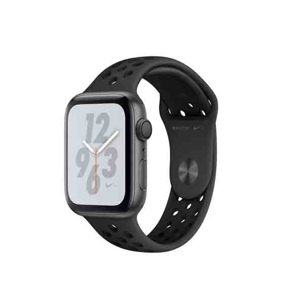 Apple Watch Nike+ Series 4 GPS + Cellular, 44mm Space Grey Aluminium Case with Anthracite/Black Nike Sport Band (MTXM2AE/A)