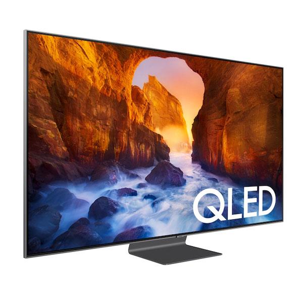 """Samsung 65"""" Q90 Flat Smart 4K QLED TV 2019 (QA65Q90R)"""