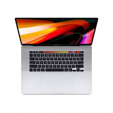 Apple 16-inch MacBook Pro with Touch Bar 2.6GHz 6-core 9th-generation IntelCorei7 processor, 512GB - Silver MVVL2AB/A