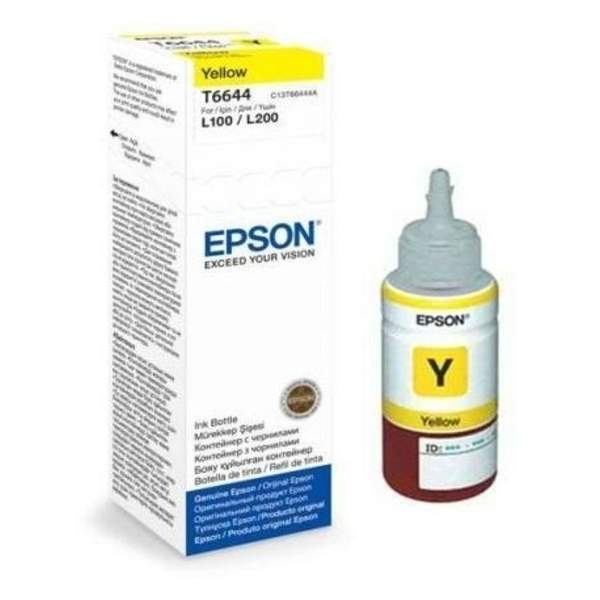 Epson 70ml Yellow Ink Bottle (T6644)