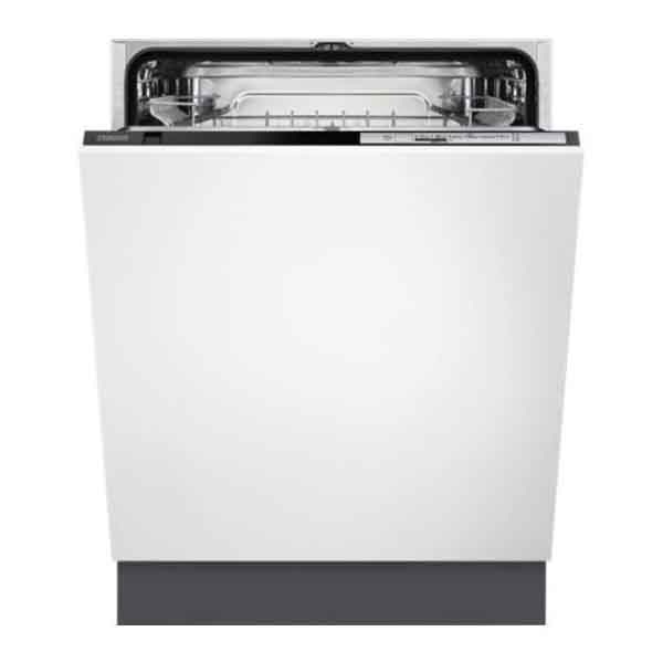 Zanussi 60cm 13PS Fully Integrated Dishwasher, 13 Place Settings, 5 Programmes (ZDT21006FA)