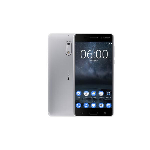 Nokia 6 Smartphone - Silver (NOKIA6W-SL)