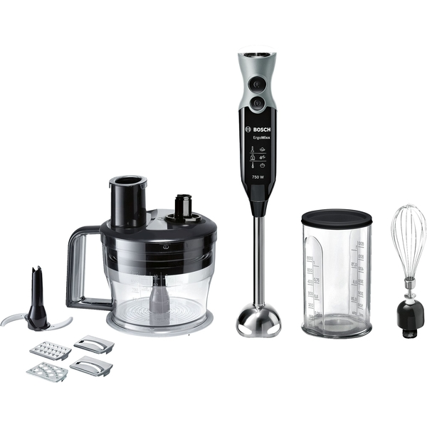 Bosch Hand Blender 7 in 1, 750W, Black (MSM67190GB)