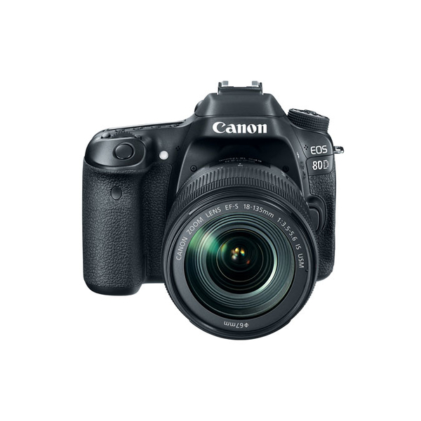 CANON EOS80DKIT CAMERA 18-135IS USM (EOS80DKIT1)