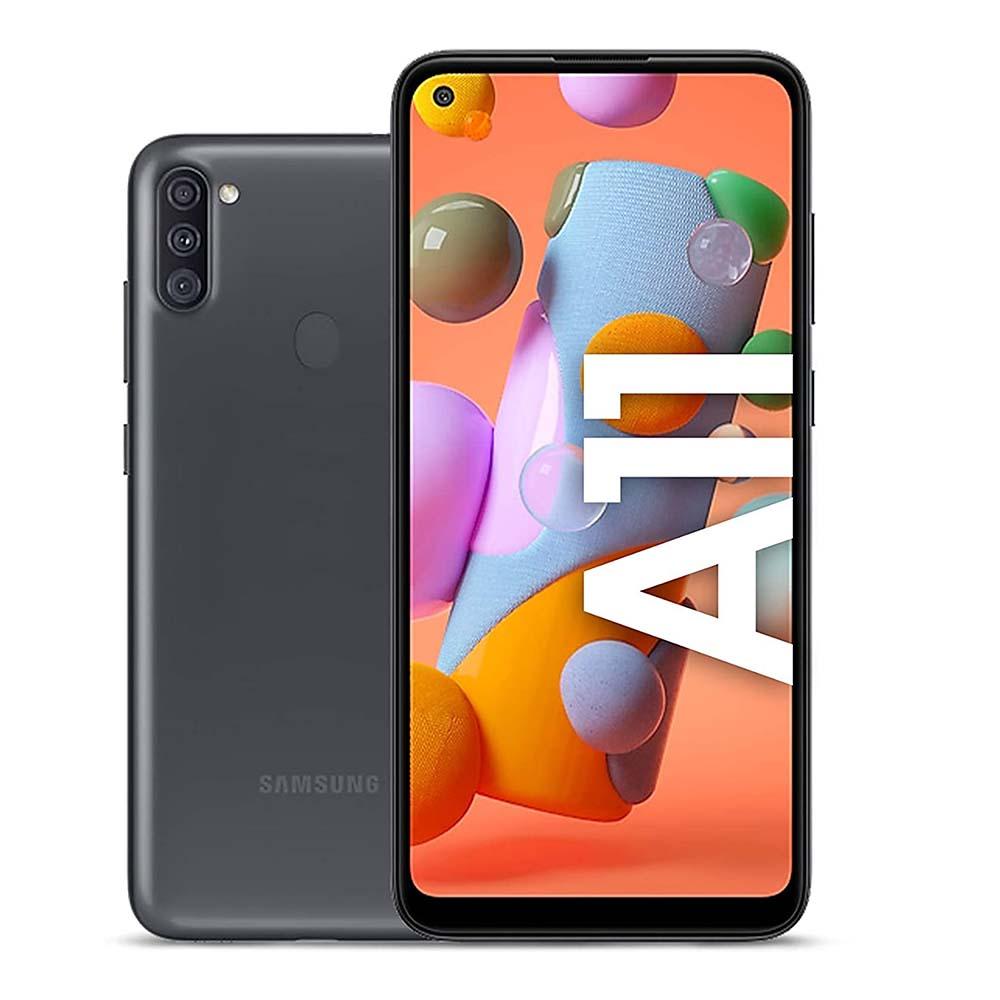 - Samsung Galaxy A11 – 6.4 inch 32GB 2GB RAM Black SMA115FW-32GBBE