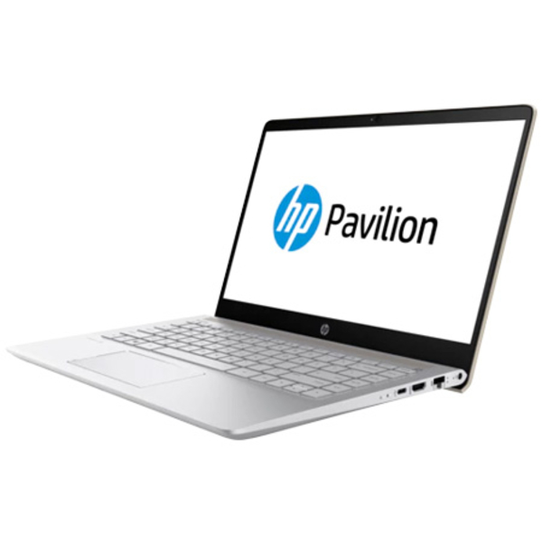 HP Pavilion Notebook 8th Gen, 14 Inch FHD, Intel Core i7-8550U, Upto 4 GHz, 12GB RAM, 1TB+128GB, Win 10, Gold (14-BF107)