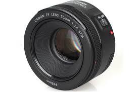 Canon EF 50mm F/1.8 STM Prime Standard Lens Black