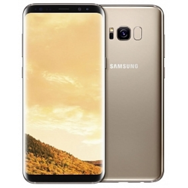 Samsung Galaxy S8 Plus, Gold  (SMG955GD-64GB-EC)
