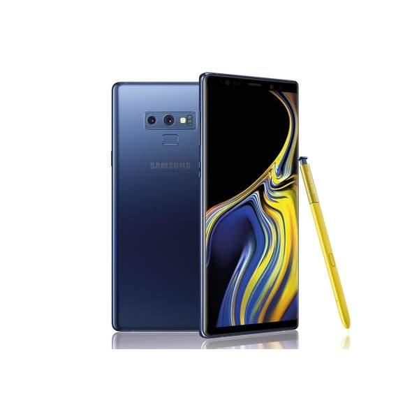 Samsung Galaxy Note 9 Smartphone, 128GB, Ocean Blue (SMN960FW-128GBBL-EC)