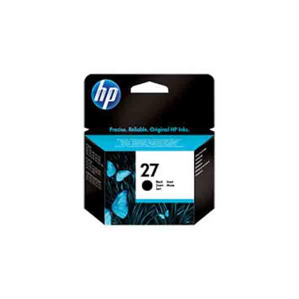 HP 27 Black Original Ink Cartridge C8727AE