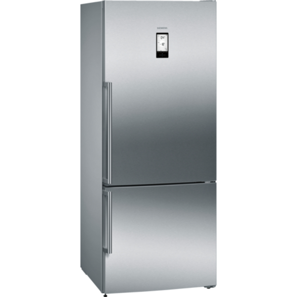 Siemens Iq500 Nofrost Bottom Freezer Door Color Inox Easyclean