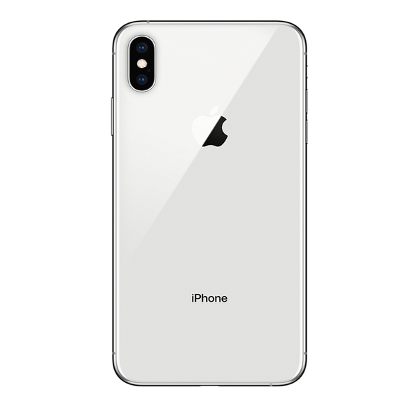Apple iPhone Xs Max 256GB Smartphone, Silver (MT542AE/A)